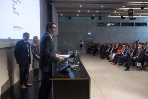 Credit Suisse Award for Best Teaching a Laurent Frésard